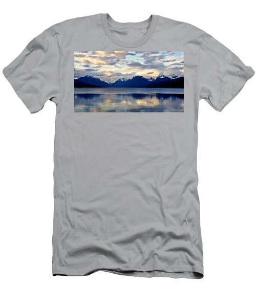 Glacier Morning Men's T-Shirt (Athletic Fit)
