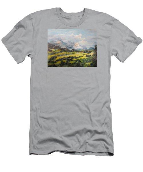 Glacier Splendor Men's T-Shirt (Athletic Fit)