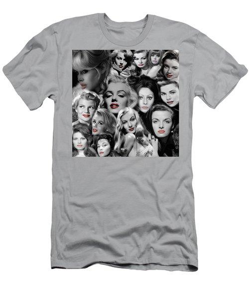 Glamour Girls 1 Men's T-Shirt (Slim Fit)