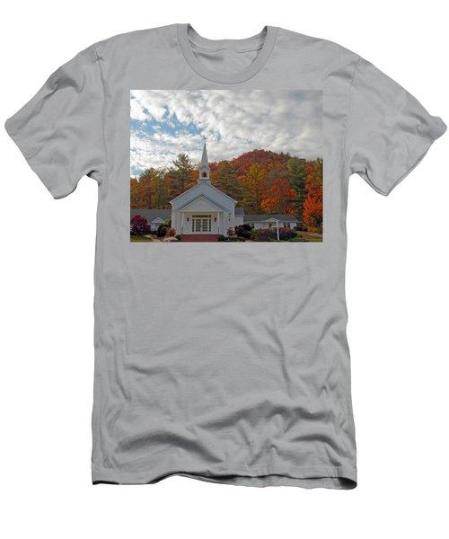 Glenville In Autumn  Men's T-Shirt (Athletic Fit)