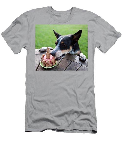 Australian Kelpie Dog First Birthday Men's T-Shirt (Athletic Fit)