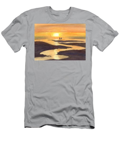 Glowing Moments Men's T-Shirt (Athletic Fit)