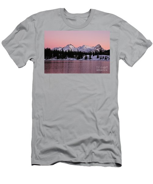 God's Light Painting At Molas Lake Men's T-Shirt (Athletic Fit)