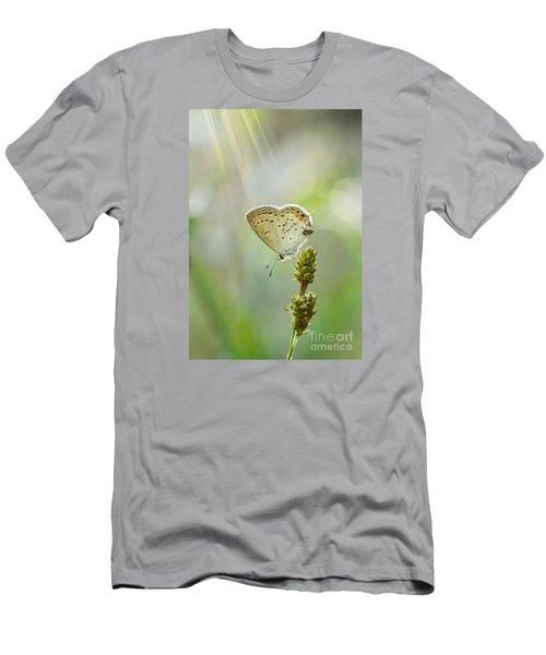 God's Love Shining Down Men's T-Shirt (Slim Fit) by Debbie Green