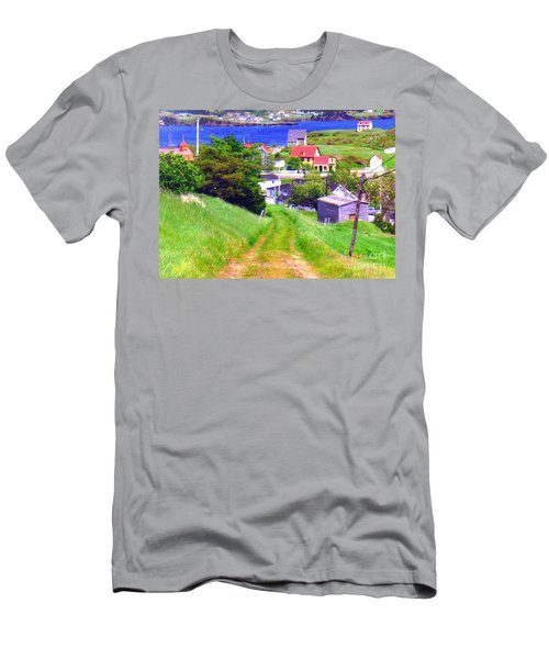 Going Down To Town Men's T-Shirt (Athletic Fit)