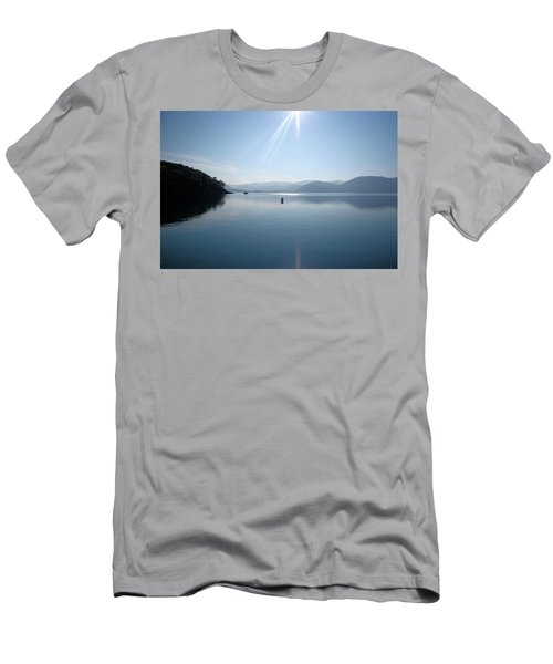 Men's T-Shirt (Slim Fit) featuring the photograph Gokova Bay  by Tracey Harrington-Simpson