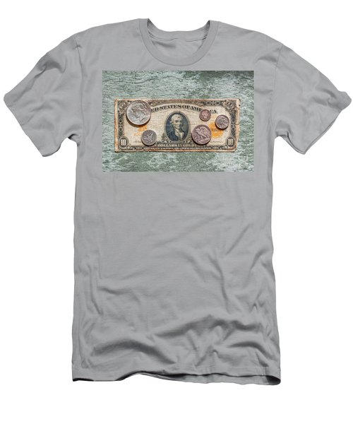 Gold Certificate And Silver Coins Ver 1 Men's T-Shirt (Athletic Fit)