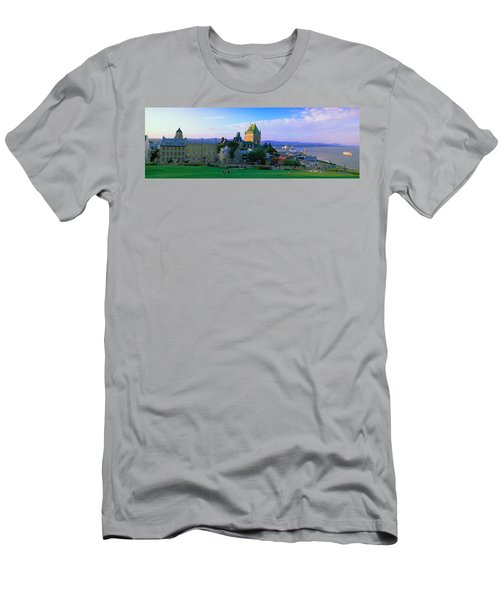 Grand Hotel In A City, Chateau Men's T-Shirt (Athletic Fit)