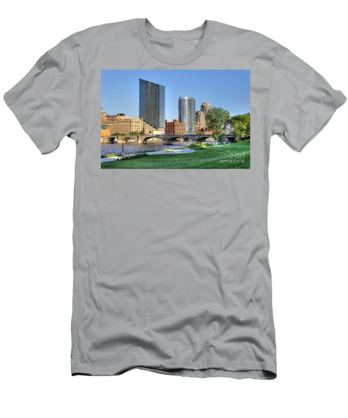 Grand Rapids Mi100 Art Prize Men's T-Shirt (Athletic Fit)