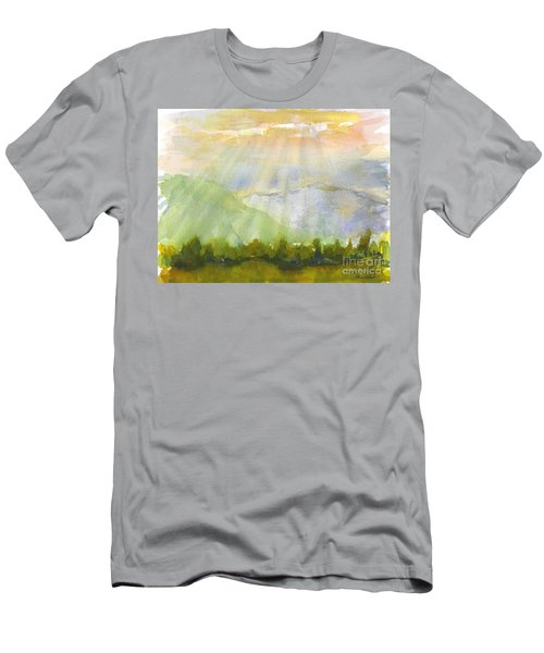 Grandma Cohen Rays Men's T-Shirt (Athletic Fit)