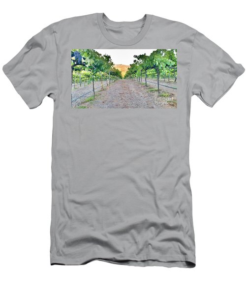 Grape Vines Men's T-Shirt (Athletic Fit)