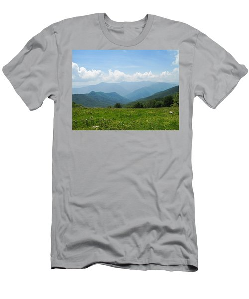 Great Smoky Mountains Men's T-Shirt (Athletic Fit)