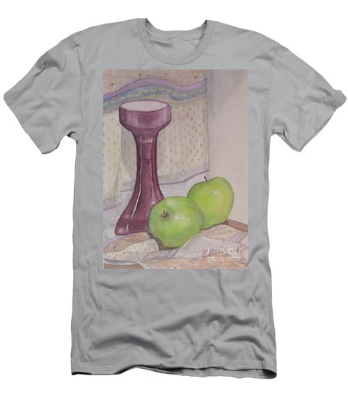 Green Apples Men's T-Shirt (Athletic Fit)