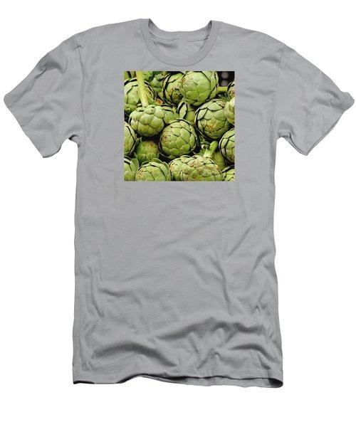Green Artichokes Men's T-Shirt (Athletic Fit)