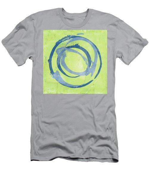 Green Blue Men's T-Shirt (Athletic Fit)