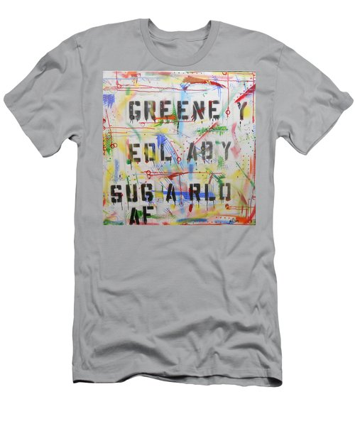 Green Eyed Lady Men's T-Shirt (Athletic Fit)
