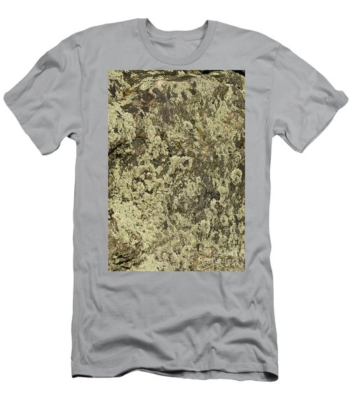 Men's T-Shirt (Slim Fit) featuring the photograph Green Moss by Les Palenik