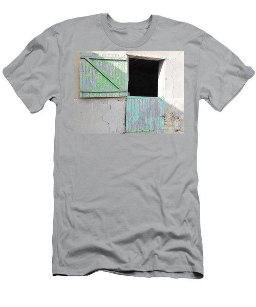 Green Stable Door Men's T-Shirt (Athletic Fit)