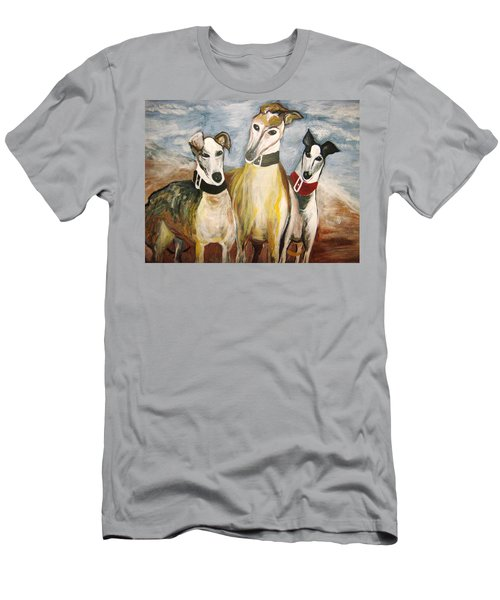 Greyhounds Men's T-Shirt (Slim Fit)