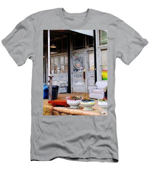 Ground Zero Clarksdale Mississippi Men's T-Shirt (Slim Fit) by Lizi Beard-Ward