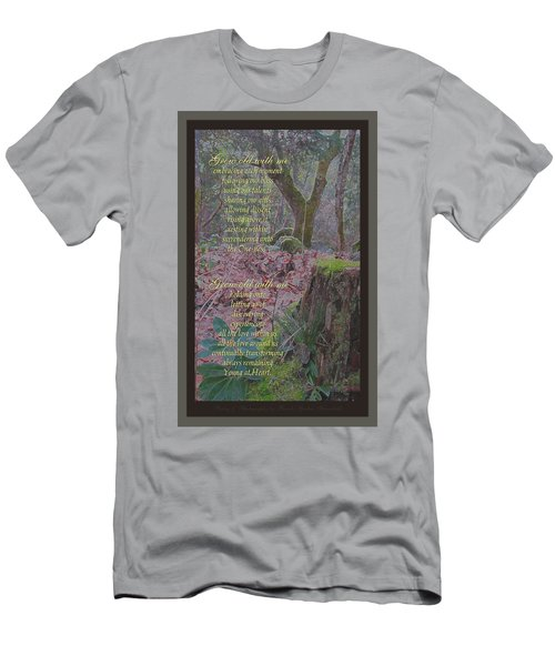 Men's T-Shirt (Slim Fit) featuring the photograph Grow Old With Me by Brooks Garten Hauschild