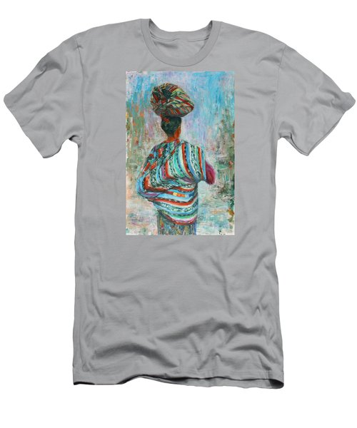 Guatemala Impression I Men's T-Shirt (Slim Fit) by Xueling Zou