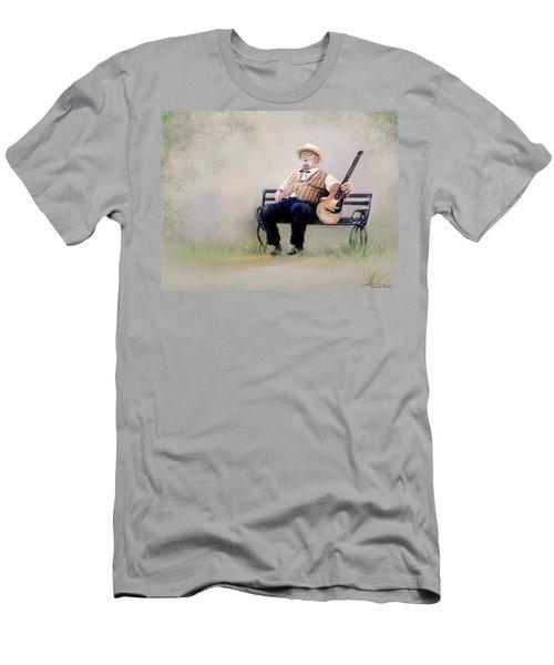 Guitar Man Men's T-Shirt (Athletic Fit)