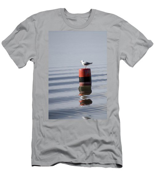 Gull Men's T-Shirt (Slim Fit) by Spikey Mouse Photography