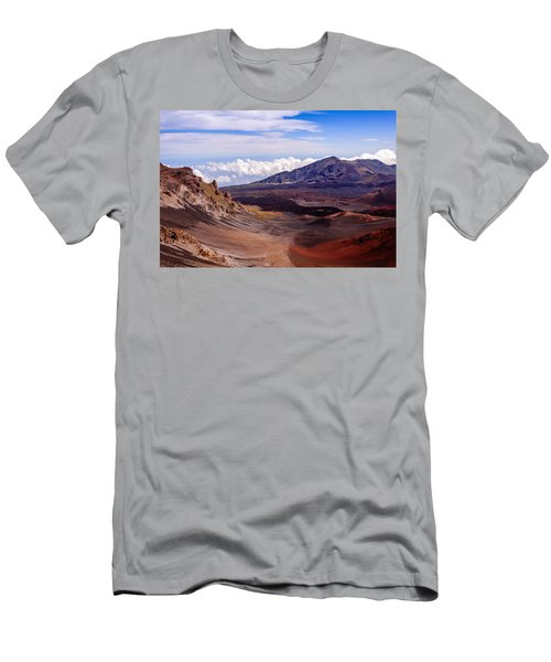 Haleakala Crater Men's T-Shirt (Athletic Fit)