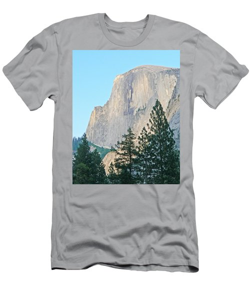 Half Dome Yosemite Men's T-Shirt (Slim Fit) by Laurel Powell