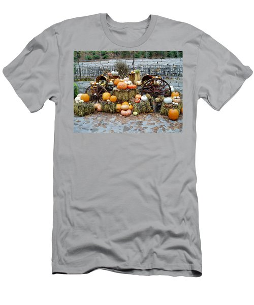 Halloween Pumpkins Men's T-Shirt (Athletic Fit)
