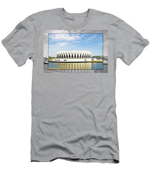 Hampton Coliseum Men's T-Shirt (Athletic Fit)
