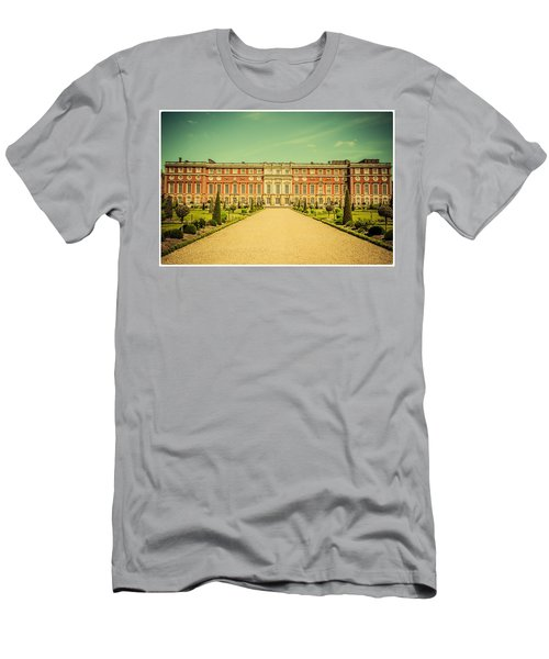 Hampton Court Palace Gardens As Seen From The Knot Garden Men's T-Shirt (Athletic Fit)