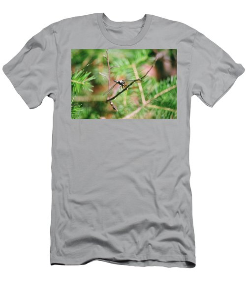 Men's T-Shirt (Slim Fit) featuring the photograph Hangin' Out by David Porteus