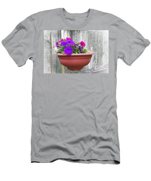 Hanging Flower Pot Men's T-Shirt (Athletic Fit)