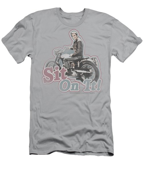 Happy Days - Sit On It! Men's T-Shirt (Athletic Fit)