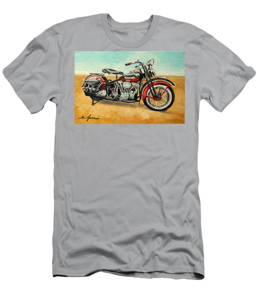 Harley Davidson Panhead Men's T-Shirt (Athletic Fit)