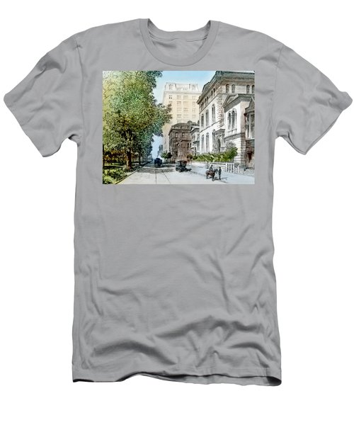 Harrison Residence East Rittenhouse Square Philadelphia C 1890 Men's T-Shirt (Athletic Fit)