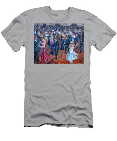 Having A Ball - Dancers Men's T-Shirt (Athletic Fit)
