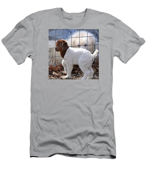 He Watches Over Me Men's T-Shirt (Slim Fit) by Nava Thompson