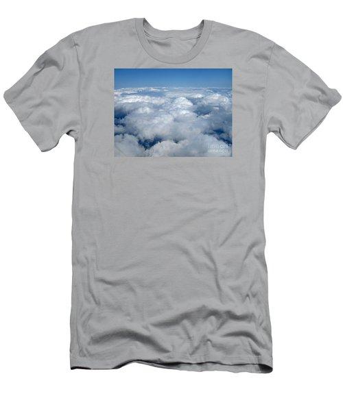 Head In The Clouds Art Prints Men's T-Shirt (Slim Fit) by Valerie Garner
