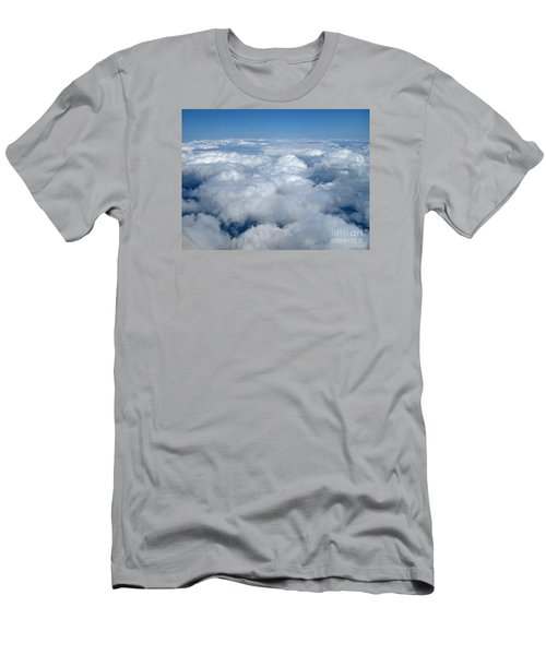 Head In The Clouds Art Prints Men's T-Shirt (Athletic Fit)