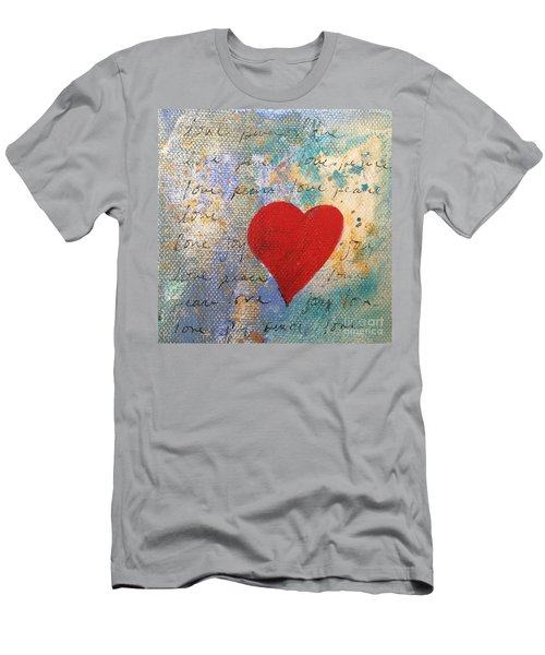 Heart #9 Men's T-Shirt (Athletic Fit)