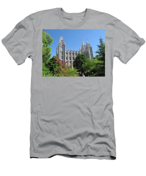 Heavenly Spires Men's T-Shirt (Athletic Fit)