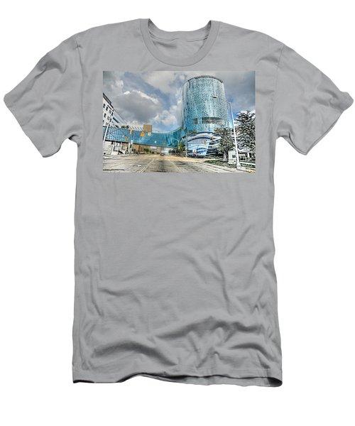Men's T-Shirt (Slim Fit) featuring the photograph Helen Devos Hospital by Robert Pearson