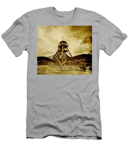 Helena-montana-fire Tower Men's T-Shirt (Athletic Fit)