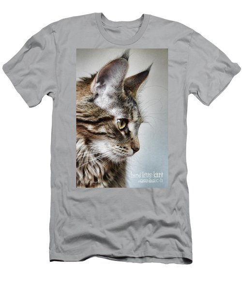Here Kitty Kitty Men's T-Shirt (Athletic Fit)