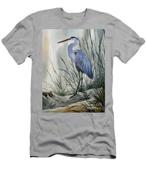 Herons Sheltered Retreat Men's T-Shirt (Athletic Fit)
