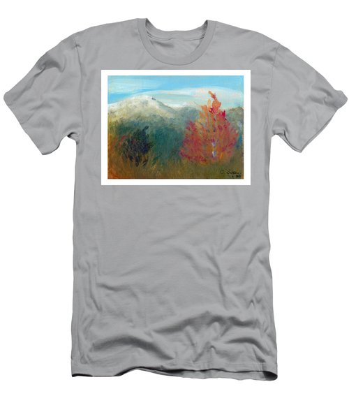 High Country View Men's T-Shirt (Slim Fit) by C Sitton