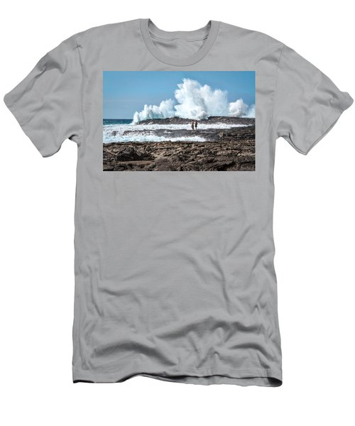 In Over Their Heads Men's T-Shirt (Slim Fit) by Denise Bird
